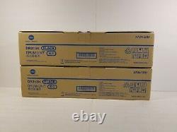 2pk DR313K Konica Minolta Black Drum Unit A7U4-0RD Genuine Konica New
