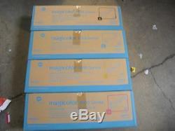 4 HY GENUINE KONICA MINOLTA Magicolor 4600 4650 4690 4695mf Color Printer TONER