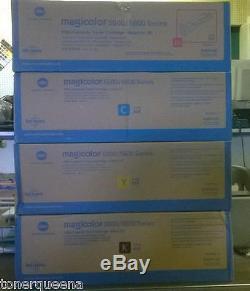 4HY New Genuine KONICA MINOLTA Magicolor 5500 5600 5650 Toner A06V133 A06V333