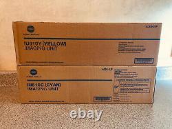 A06007F-Genuine Konica Minolta (IU-610Y, IU-610C) Yellow, Cyan Imaging Unit, OEM