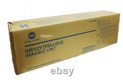 A0tk08d Iu612y Genuine Konica Minolta Bizhub C452 C552 C652 Yellow Imaging Unit