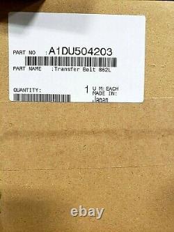 A1DU504203-Genuine Konica Minolta Transfer Belt (862L) New Style, OEM