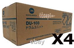 A22C0Y1 DU103 Genuine Konica Minolta Lot Of 4 Drum For Press C8000