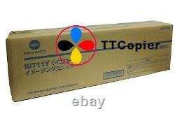 A2X208D IU711Y Genuine Konica Minolta Yellow Imaging Unit for Bizhub C654 C754