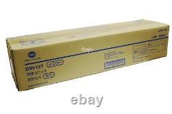 A2XN08D DV-512Y Genuine Bizhub C554 C454 C364 C284 C224 Yellow Developing Unit