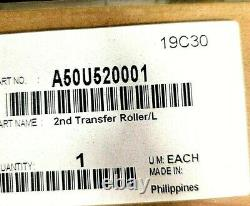 A50U520001-Genuine Konica Minolta 2nd Transfer Roller, Lower, OEM