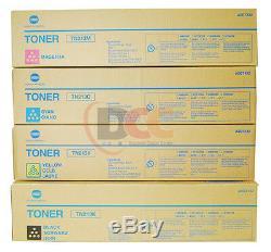 Bizhub C253 C203 Toner Set Complete Genuine Konica Minolta