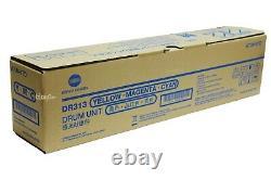 DR313 DR-313 A7U40TD Genuine Konica Minolta Drum Unit Color For C258 C308 C658