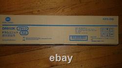 DR512K, A2XN-0RD Genuine Konica Bizhub C554 C454 C364 C284 C224 Black Drum Unit
