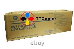 DV-711K A2X203D Genuine Konica Minolta Bizhub C654 C754 Black Developing Unit