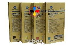 DV610 SET Genuine Konica Minolta Developer C6000 C7000 C6500 C6501 C5500 C5501