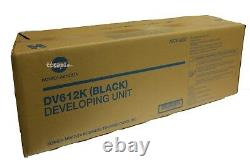 DV612K, A0TK03D Genuine Konica Minolta C452 C552 C652 Black Developer Unit