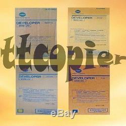 DV613 set, A1DY Genuine Konica Minolta Developer set for Bizhub PRESS C8000
