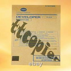 DV613K, A1DY600 Genuine Konica Minolta Black Developer for Bizhub PRESS C8000