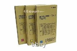 DV617 CMY, Lot of 3 Genuine Konica Minolta Developer Unit For C7000