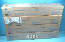 Full Set Of Genuine Konica Minolta Tn321 Toner Cartridges A33k130/230/330/430