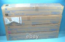 Full Set Of Genuine Konica Minolta Tn321 Toner Cartridges A33k130/230/330/430