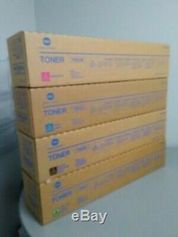 Genuine KONICA MINOLTA TN622 TONER SET CYMK Bizhub Press C1085, C1100 Sealed