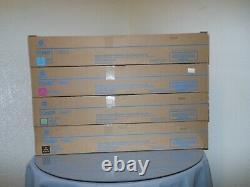 Genuine Konica BizHub C458, C558, C658 TN514 Color toner Set KYMC New