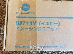 Genuine Konica Minolta A2X208D IU-711Y IU711Y Image Unit Yellow