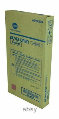 Genuine Konica Minolta A3VX800 Magenta Developer