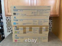 Genuine Konica Minolta A3vu130 A3vu430 A3vu230 A3vu330 Bcym Toner /