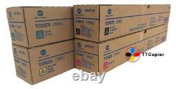 Genuine Konica Minolta Bizhub C1060L TN620 Toner Set TN620-SET