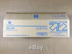 Genuine Konica Minolta DU-104 Drum Unit for BH C6500 C7000 C7000