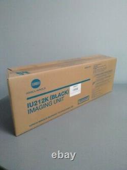 Genuine Konica Minolta IU212K Black Imaging Unit, bizhub C200 Sealed