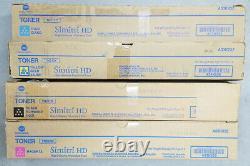 Genuine Konica Minolta TN512C TN512M TN512Y TN512K set CMYK