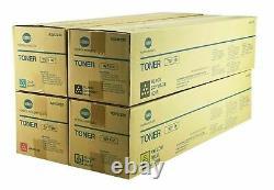 Genuine Konica Minolta TN711 CMYK Set Toner for Bizhub C654 C654e C754 C754e