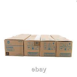 Genuine Konica Minolta Toner Set For Bizhub TN213K TN213Y TN213M TN213C