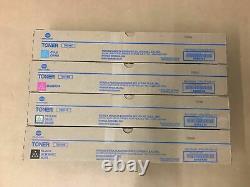 Genuine Konica TN-514 CMYK Toner Set for bizhub C458 C558 C658