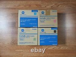 Genuine Konica TNP48 CMYK Toner Set for Bizhub C3850 C3350 FedEx 2 Day
