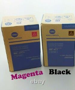 Genuine Konica TNP79 Magenta & Black Toner Set for Bizhub C4050i C3350i