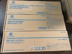Genuine OEM Konica Minolta Bizhub IU612 Set Imaging Unit IU612C IU612M IU612Y