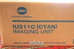 Genuine OEM Konica Minolta IU211C (A0DE0HF) Cyan Imaging Unit C203 C253 D3