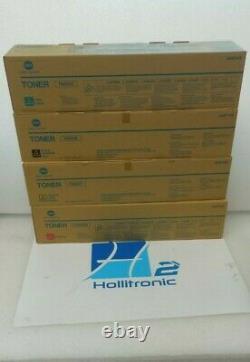 Genuine Set of 4 Konica Minolta TN622C TN622M TN622Y TN622K