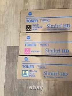Genuine Toner Konica Minolta BizhubC454 (tn512k, tn512m, tn512y)