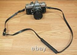 Genuine Vintage Minolta SRT 101 Film CAmera With MC Rokkor-PF 117 Lens READ