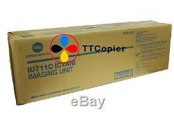 IU711C A2X20KD Genuine Konica Minolta C754 C654 Cyan Imaging Unit