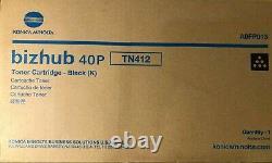 Konica Minolta A0FP013 Genuine bizhub 40P BLACK Toner FAST FREE SHIPPING