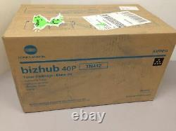 Konica Minolta Bizhub 40P A0FP013 Black Toner Cartridge TN412 New GENUINE