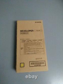 Konica Minolta DV617Y A1U9760 G-DV617Y Genuine Yellow Developer Unit For C7000