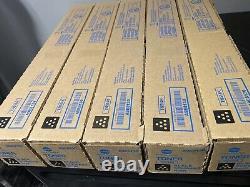 LOT OF 5 Factory Sealed Genuine Konica Minolta Black Toner Cartridges TN514K