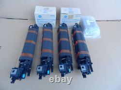 Lot Genuine Konica Minolta Bizhub C3850/C3350 Toner and Imaging Units