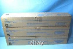 Lot Of 3 Genuine Konica Minolta Black Toner Cartridges Tn514k A9e8130 Nib
