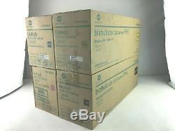 NEW Genuine Konica Minolta IUP14 Imaging Unit Set for C25 C35 C35P IUP14CYMK