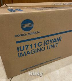 NEW OEM Genuine Konica Minolta A2X20KD IU711C Cyan Image Unit C654 C754
