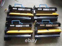New! 4PK Genuine Konica Minolta MagiColor 5400 5430DL 5440DL 5450 Printer Toner